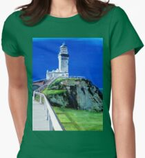 Light House - Cape Byron - Byron Bay Women's Fitted T-Shirt