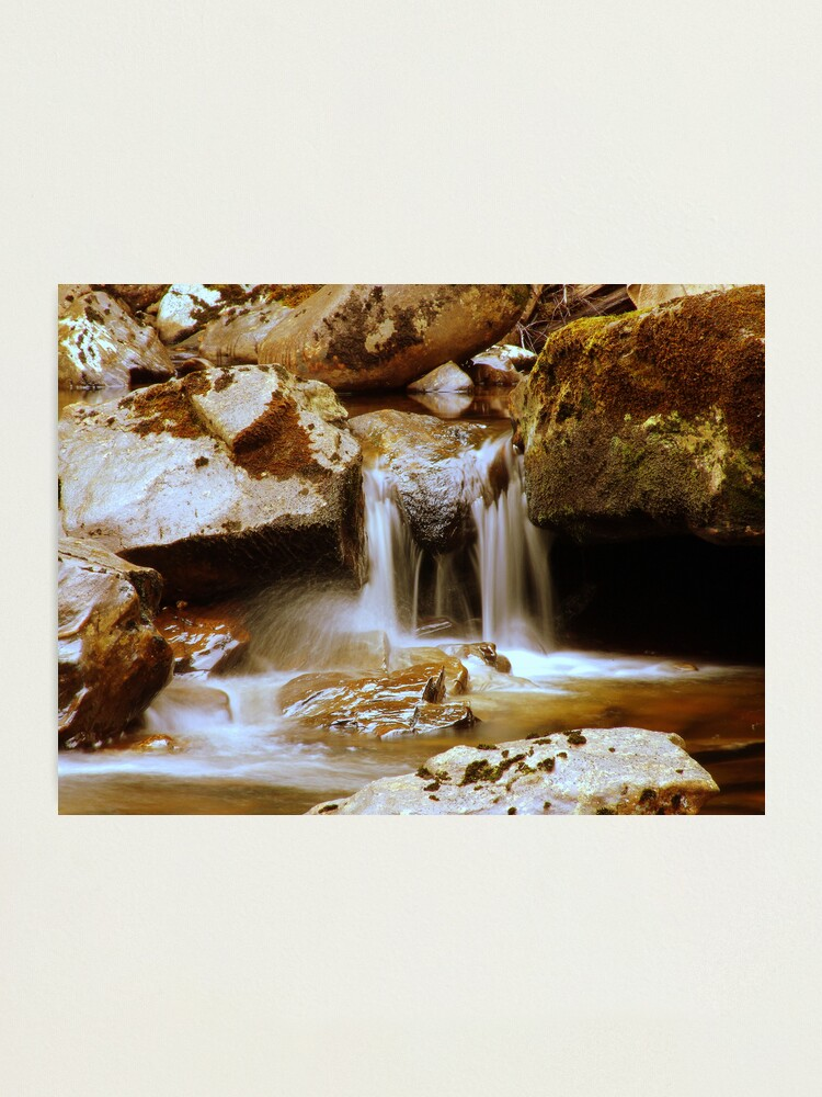 Alternate view of Rocks  and  Water Photographic Print