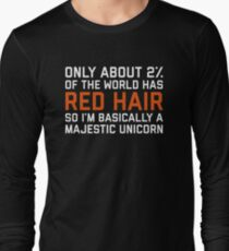Red Hair Funny Quote Long Sleeve T-Shirt
