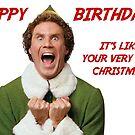 Happy birthday elf by mariatorg