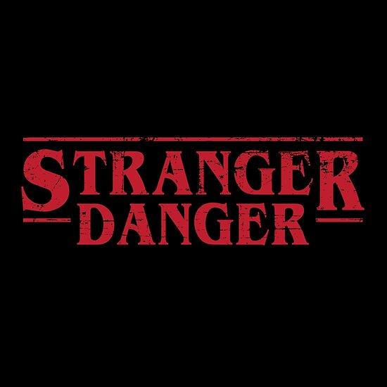 """Stranger Danger parody typography"" Poster by gmcguckin ..."