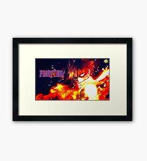 Natsu Dragneel The Dragon Slayer Framed Print