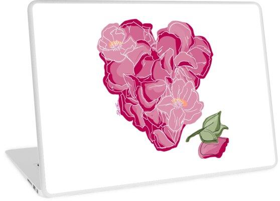 Blumenherz von Barbara Baumann Illustration