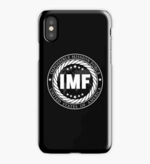 No mission is impossible (black) iPhone Case