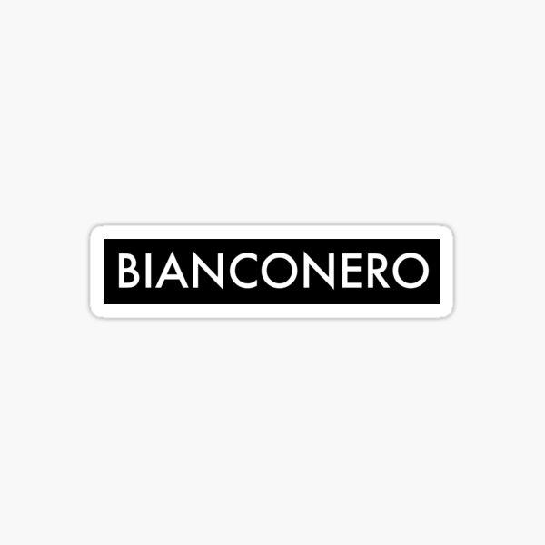 Bianconero - Juventus fans Sticker