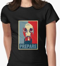 Prepare! Womens Fitted T-Shirt