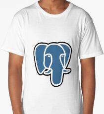 Postgresql logo Long T-Shirt