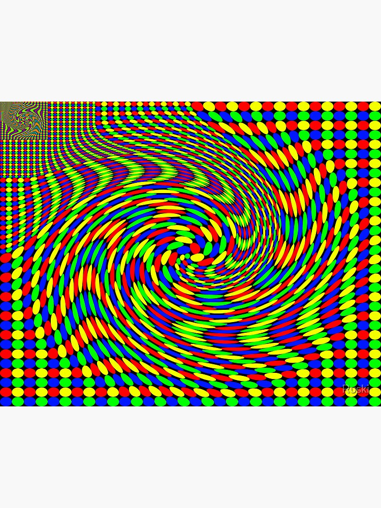 Twisted Gestalt Flag of Fractality by Ruski