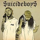 «Suicideboys G59 Obra de arte $ uicideboy $» de RapSentacion
