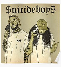 Suicideboys G59 Artwork $uicideboy$ Poster