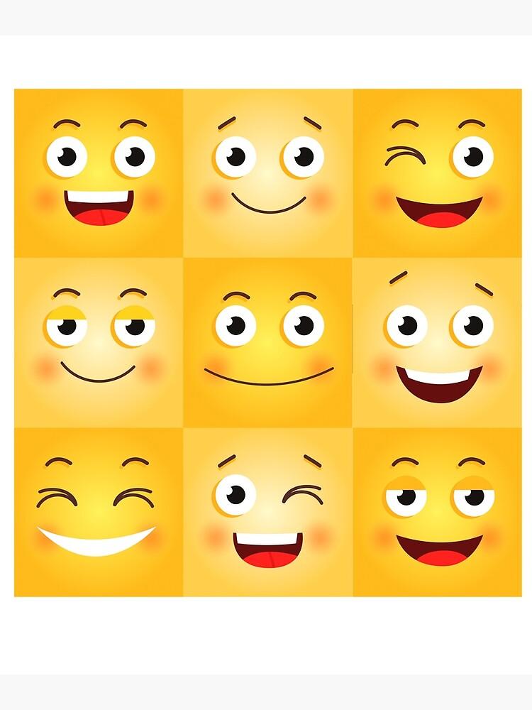 Smiley kussmund