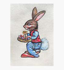 Easter Rabbit Photographic Print