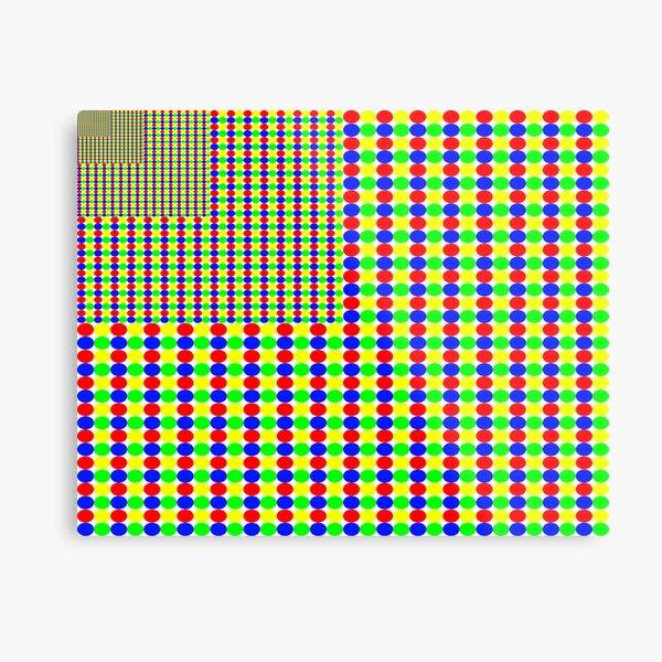 Gestalt Flag of Fractality Metal Print