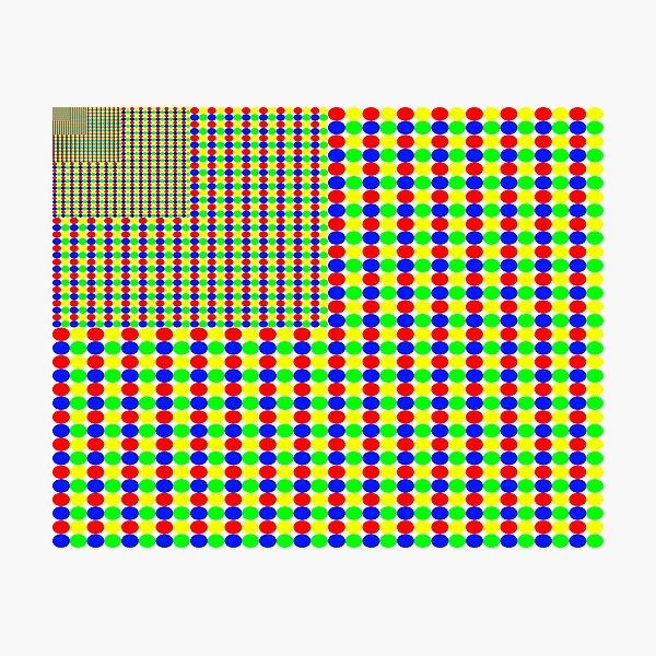 Gestalt Flag of Fractality Photographic Print