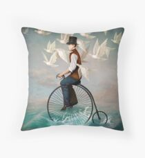 Ocean Ride  Throw Pillow