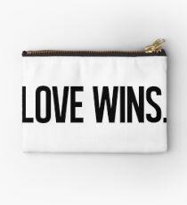 LOVE WINS. Zipper Pouch