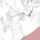 Marble & Gold Antique Pink by SoNifty