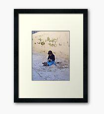"""Play."" Framed Print"
