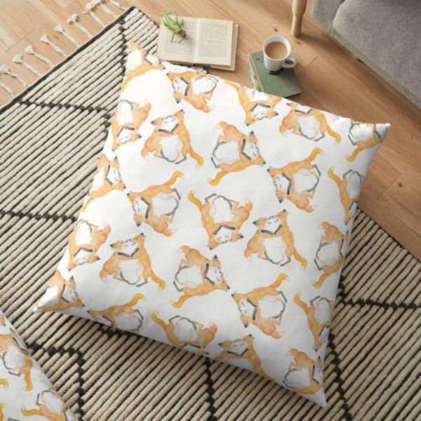 Kits at play Floor Pillow