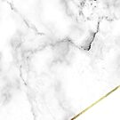 Marble & Gold White by SoNifty