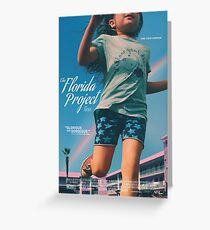 The Florida Project - Official Artwork Greeting Card