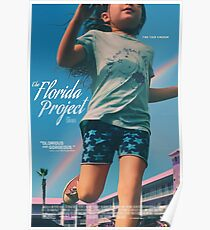 The Florida Project - Official Artwork Poster