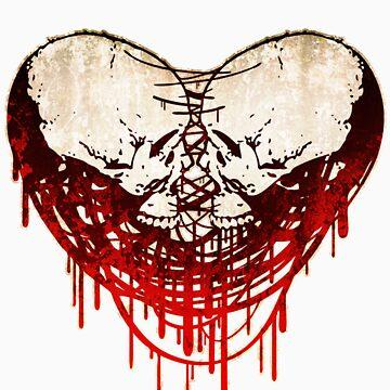 Skull-Heart (Hardcore) by Uey333