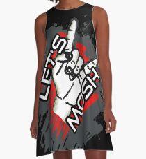 Let's Mosh A-Line Dress