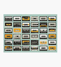 Casette tapes Photographic Print