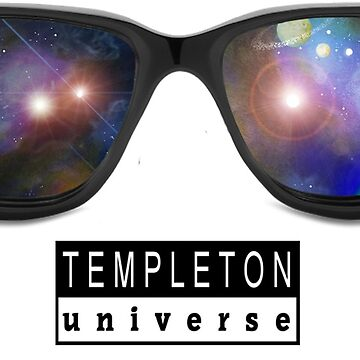 Templeton Universe Space-glasses by cheriedirksen