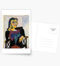 Portrait of Dora Maar-Pablo Picasso Postcards