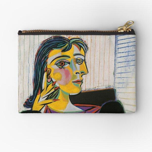 Portrait of Dora Maar-Pablo Picasso Zipper Pouch