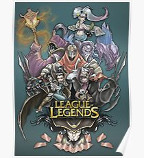 League of Legends Classic Poster