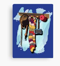 GUESS WHO'S COMING DINNER???  Canvas Print