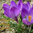 Wishing you a happy Easter! by Ana Belaj