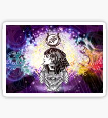 Goddess Isis - Manifestor of Miracles Sticker