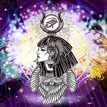Goddess Isis - Manifestor of Miracles by HyperLyght