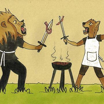 Barbecue duel by E-Maniak