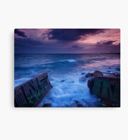 Sea Power Canvas Print