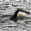 Triathlon Swimmer by Ari Salmela