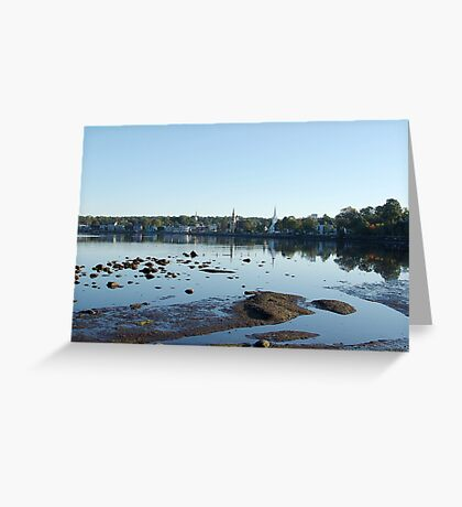 Mahone Bay Churches Greeting Card