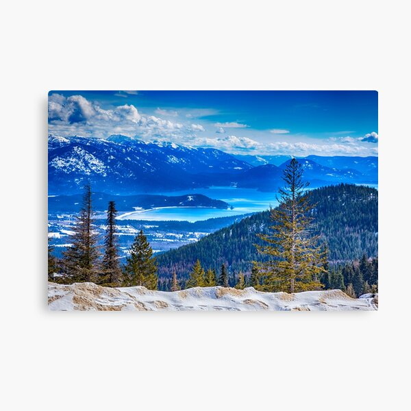 The View from the Hill Canvas Print