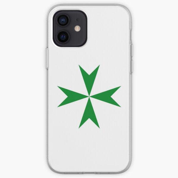 Cross of the Order of Saint Lazarus iPhone Soft Case