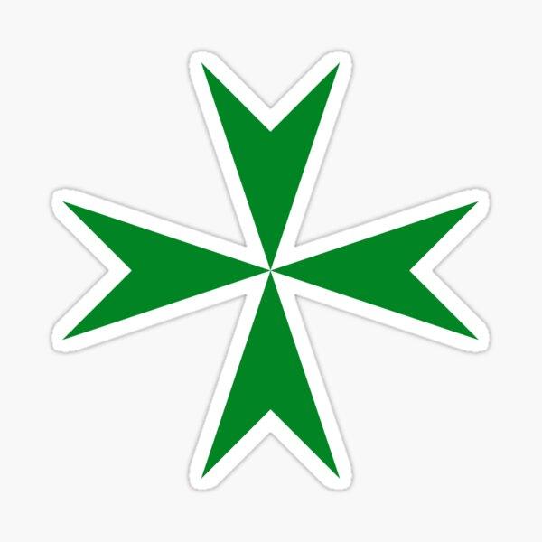 Cross of the Order of Saint Lazarus Sticker