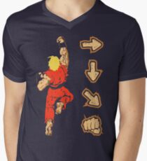 Know your Fighting Skills v2.0 Men's V-Neck T-Shirt