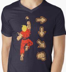 Know your Fighting Skills v2.0 Men's V-Neck T-Shirt