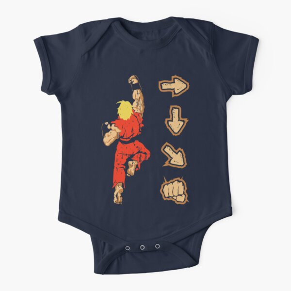 Know your Fighting Skills v2.0 Short Sleeve Baby One-Piece