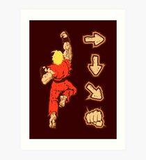Know your Fighting Skills v2.0 Art Print