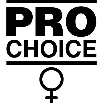 Pro-Choice Feminist Shirt Design by feministshirts