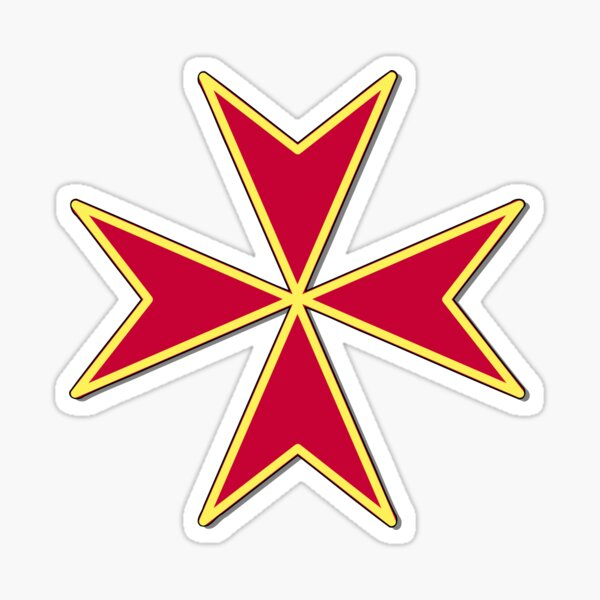 Cross of the Order of Saint Stephen Sticker